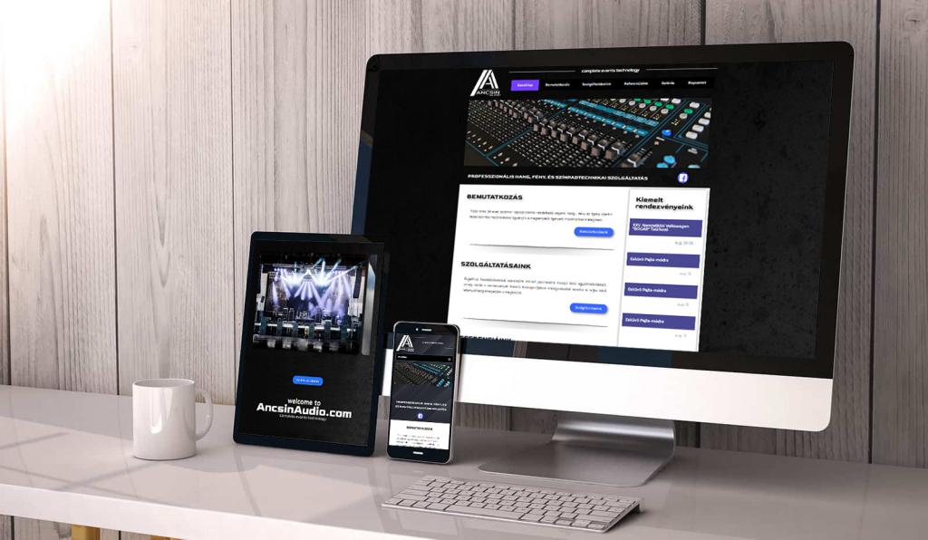 AncsinAudioWebsite